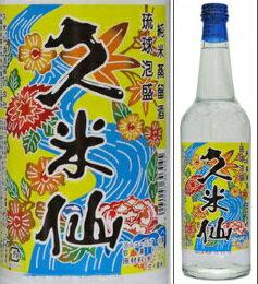 さわやかな飲み口とまろやかな風味が楽しめる泡盛の定番。30度 久米仙 600ml瓶 泡盛(本島那...