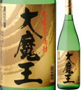 25度大魔王1800ml瓶黄麹仕込芋焼酎濱田酒造鹿児島県化粧箱なし