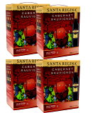 サンタ・レジーナ 赤 カベルネ・ソーヴィニヨン バッグインボックス 3L×4本 ※【送料無料(北海道・東北・沖縄以外)】