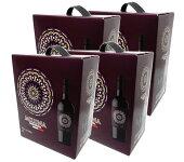 ミルーナ(MILUNA)赤箱入りワイン3L×4本セット※【送料無料(北海道・東北・沖縄以外)】