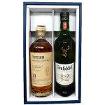 飲み比べウイスキー2本アラン10年、グレンフィディック12年700mlギフトボックス入り※【送料無料(北海道・東北・沖縄以外)】