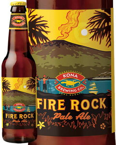 コナビール ファイアーロック ペールエールKona beer fire rock pale ale355ml ビール ...