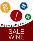 【送料無料】 訳ありワイン福袋 12本セット ※中身はご指定頂けません。※ご注文後のキャンセル 同梱不可