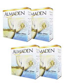 アルマデン クラシック ホワイト バッグ イン ボックス 4本セット 5000ml 白ワイン カリフォルニア (同梱不可)