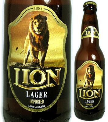ライオン ラガー [330ml][ビ-ル][スリランカ]ライオン ラガー [330ml][ビ-ル][スリランカ]