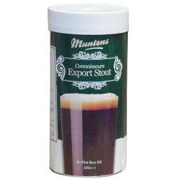 Muntons Connoisseurs Export Stout スタウト 1800g