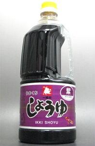 九州醤油【九州醤油】 熊本県 緑屋本店 一騎印 紫醤油 こいくち 1.5L