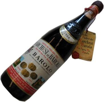 昭和41年の誕生年ワイン 1966年 バローロ 赤 [1966] マルケージ・ディ・バローロ 箱入りギフトラッピング Marchesi di Barolo