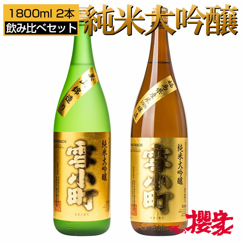 日本酒, 飲み比べセット  1800ml2