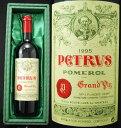 *【送料及びクール代金無料】シャトー・ペトリュス [1995]  赤 750mlChateau petrus 1995【緑ギフトボックス入】