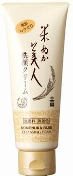 日本盛 米ぬか美人 洗顔クリーム100g