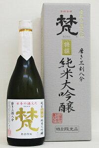 合資会社 加藤吉平商店梵・特選 純米大吟醸720ml□