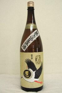 玉川 自然仕込 生もと純米酒コウノトリラベル 無濾過生原酒 1800ml