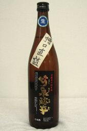 竹泉 純米「醇辛」槽口直詰生原酒 720ml令和1年度醸造新酒