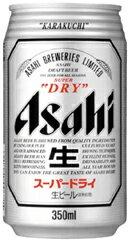 1本 183円・・・♪\(~o~)/アサヒスーパードライ 350缶1ケース 24本入りアサヒビール