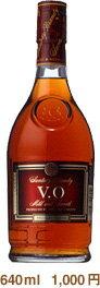 640 ml of Suntory brandy VO 37 degrees