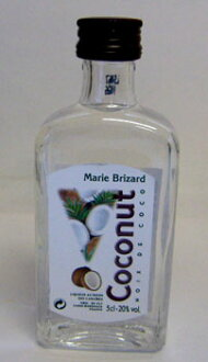 Marble coconut miniature 50 ml