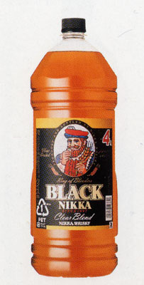Black Nikka clear blend 4L×4 book