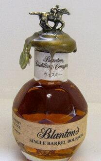50 ml of Blanton single-barrel bourbon miniature 46.5 degrees
