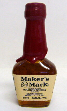 50 ml of makers mark redtop miniature 45 degrees
