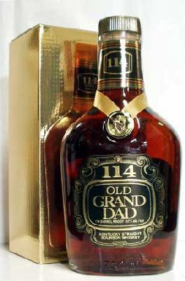 Old Grandad 114 regular 750 ml 57 °