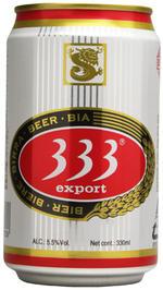 ベトナムビール 333 バーバーバー 330ml缶×24本