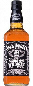 700 ml of Jack Daniel's black 40 degrees