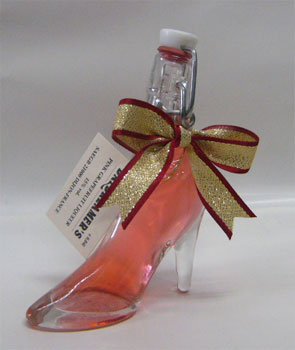 Cinderella shoe miniature pink 50 ml