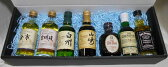 国産、輸入ウイスキー(サントリー、ニッカ)ミニチュアボトル50ml 7本ギフトセット