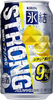 Oh-my love is ~ ♪ ♪ Kirin ice lemon strong 350 ml cans x 24