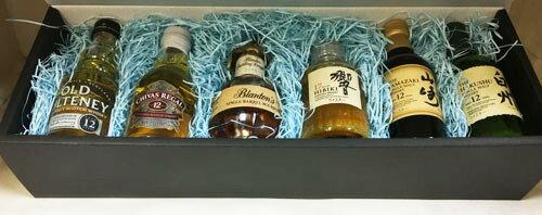 送料無料3大ウイスキーミニチュアボトル50ml×6種詰め合わせセット(響17年、山崎12年、白州12年含む)北海道、沖縄は追加送料かかります。