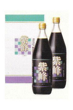柴沼醤油 紫峰しょうゆ 1000ml 2本入りギフト SK15【茨城】