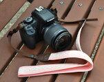 カメラストラップレース(ピンク)