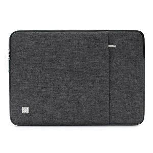 """NIDOO 14インチ ノートパソコン ブリーフケース 撥水 14インチラップトップ / ノートブック / 13.5"""" Microsoft Surface Book / 15"""" Surface Laptop 3 / ThinkPad E495 T490 T490s T590 / HP ProBook 645 G4 / Acer Swift 5 7 / ウルトラブック用 PCバッグ (ダークグレー)"""