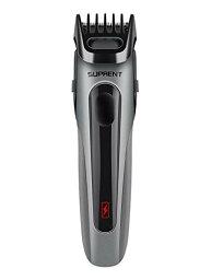 ヒゲトリマー SUPRENT バリカン男性 19段階の長さ調節で USB急速充電できる 業務用 家庭用