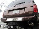 BRIGHTZ ランクル 80系 超鏡面ステンレスメッキリアバンパー...