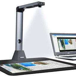 iCODIS ドキュメントスキャナー X3 高解像度800万画素 USB書画カメラ スキャナー 多言語OCR機能 最大A3サイズ対応 LEDライト付き 教室 オフィス リモートワーク