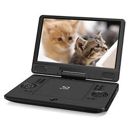 HONEY CAT ポータブル ブルーレイプレーヤー 11.6インチ DVDプレーヤー 充電バッテリー搭載