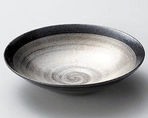 20cm 銀彩 浅鉢 & さしみ鉢日本製お惣菜の盛り合わせ、炊きもの、煮物、おばんざいの盛り付けに中サイズ深鉢・和ボウル