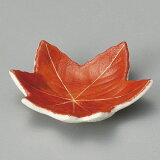 6cm 赤絵楓 豆皿6.4x1.5cm 薬味 塩 スパイス 味噌 からし しょうゆ 香の物和の小皿 ミニ皿 ナッピー
