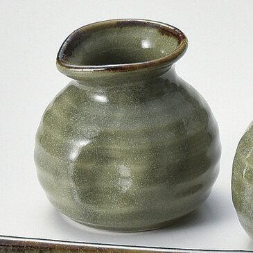 180cc 唐津 一合蕎麦徳利 8.1cmx7.7cm日本製 そば徳利・だし入れ・つゆ入れ蕎麦懐石用品