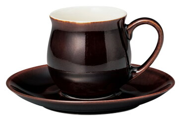 香りを愉しむ。パルファムA 195cc コーヒーカップ&ソーサー ガーネット カフェ&コーヒー専門店向きの業務用食器日本製 口径7.5cm 皿径15.2cm