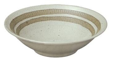 26cm かげろう 平鉢 日本製 美濃焼
