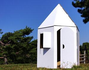 【日本製ダンボールハウス 】ぺったんハウス〜「つながるおしろ」