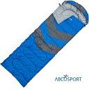 【あす楽】ABCOSPORT スリーピングッド 寝袋 シュラフ 青 オールシーズン 防水 災害対策 キャンプ アウトドア