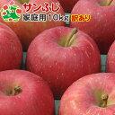 【訳あり】 りんご サンふじ 家庭用キズあり 青森県産 10...