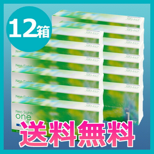 ネオサイトワンデーアクアモイスト12箱セット/1日使い捨てコンタクト...