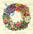 Dimensions(ディメンジョンズ) Needlecrafts Counted Cross Stitch クロスステッチキット, Wreath Of All Seasons フラワーリース