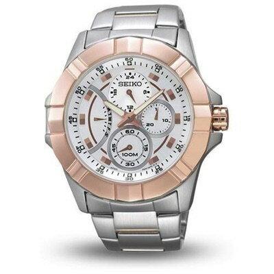 セイコーSEIKOSRL068P1プルミエクロノグラフ腕時計