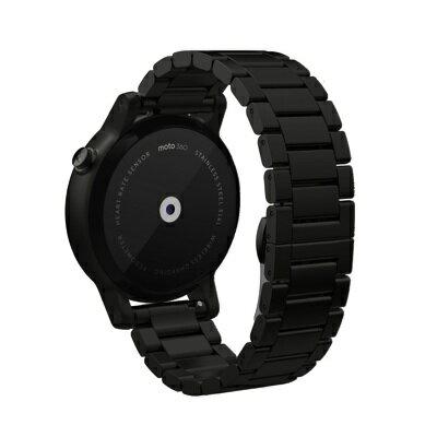 モトローラMoto3602ndGenスマートウオッチ(カラー:ブラックメタル)MotorolaMoto3602ndGenメンズ42mm